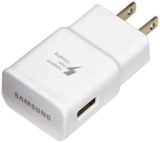 Samsung Cell Phone Accessories Samsung EP-TA20JWEUGCA Fast Charging Wall Charger (No Cable)