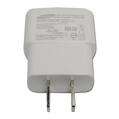Samsung Cell Phone Accessories Samsung ETA0U61JWE Travel Adapter & USB Cable 5.0V 1.A (Open Box)