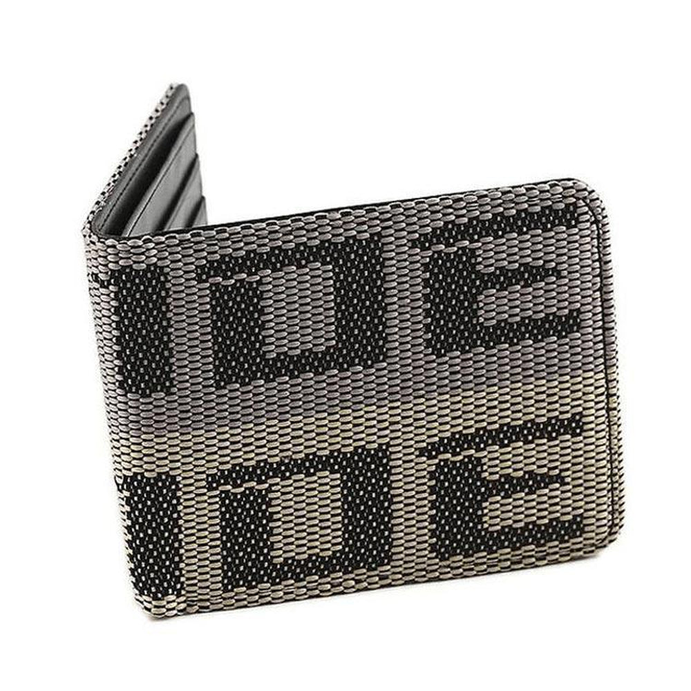 Bride Racing Car Wallet - Grey - Authentic racing seat fabric material - JDM Racing Wallets - StanceVibez