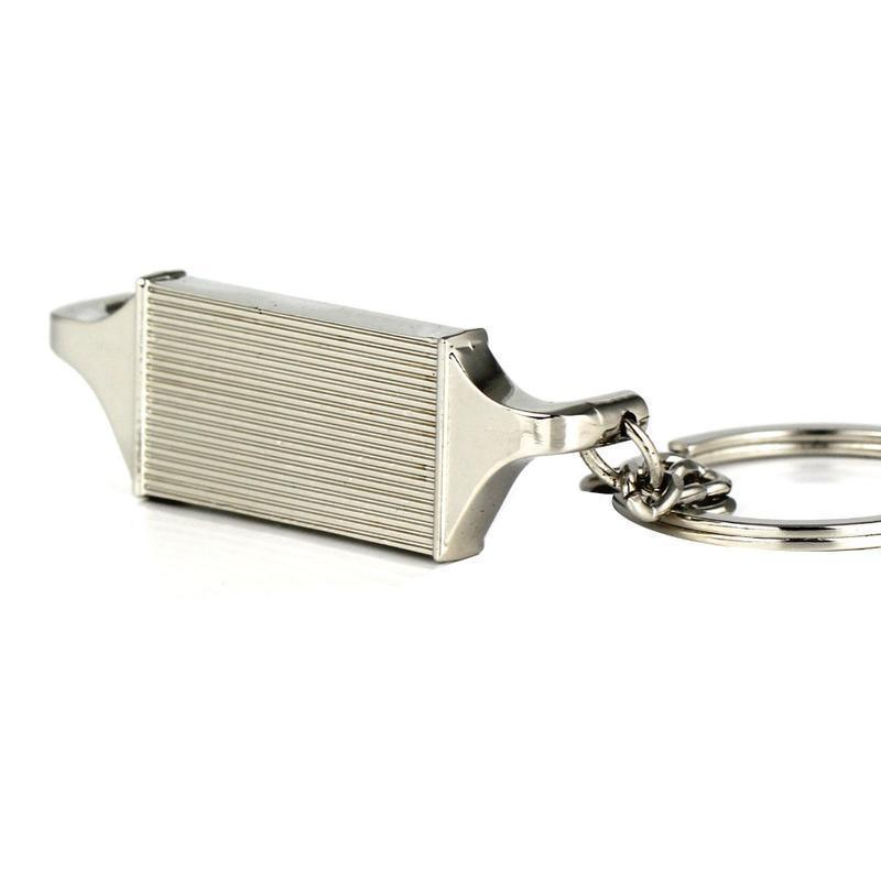 Intercooler - Car Keychain - JDM Key Ring -