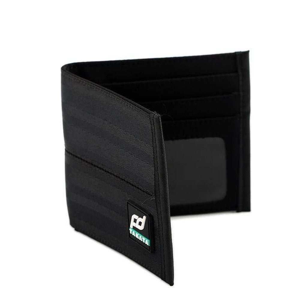 Racing FD Car Wallet Black - Authentic Racing Seat belt material - JDM Racing Wallets - StanceVibez