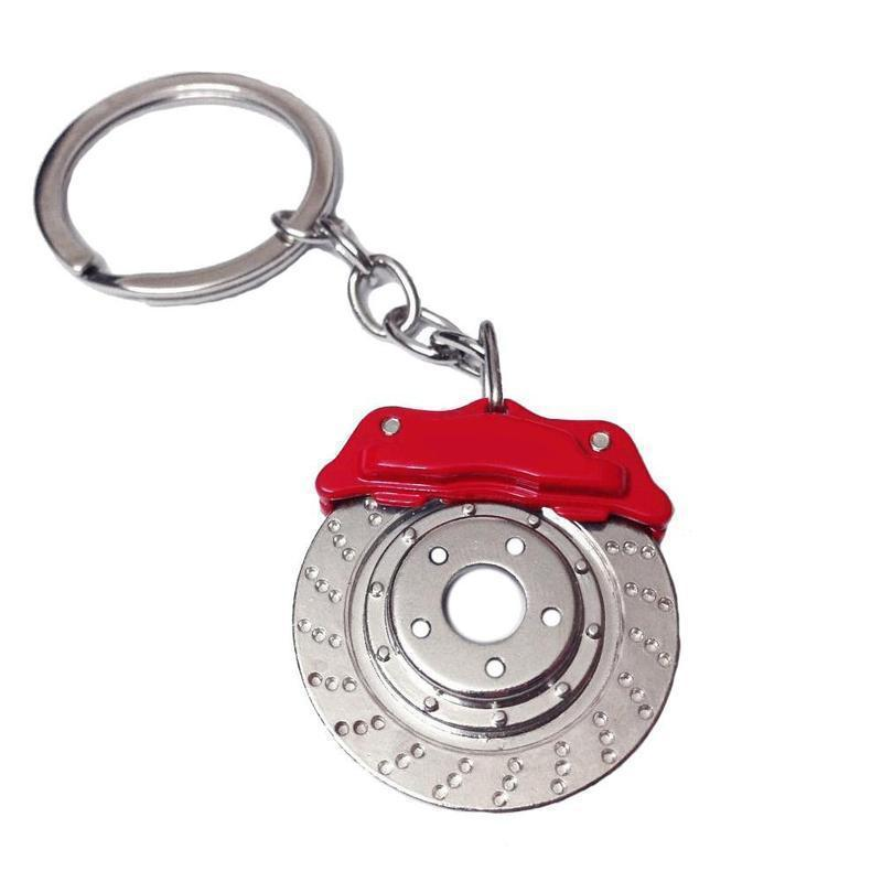 Rotary Brake Disc - Car Keychain - JDM Key Ring -