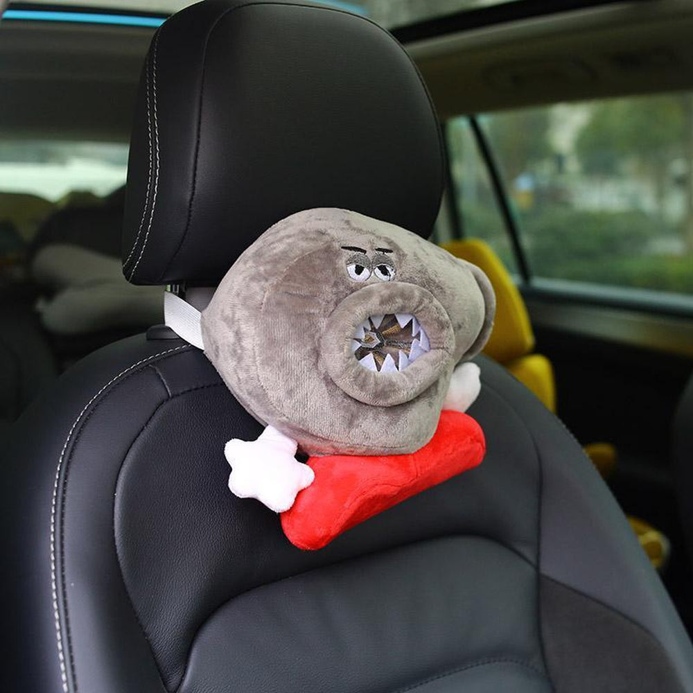 Turbocharger Car Plush Pillow Headrest Small. JDM Cushion.