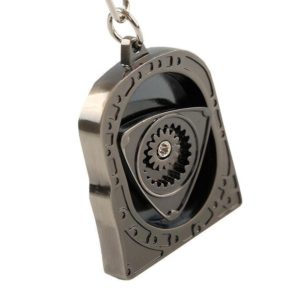 Wankel Rotary - Car Keychain - JDM Key Ring -