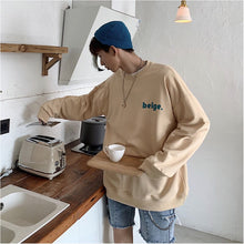 Goodfiller ''Beige'' Oversized Sweater