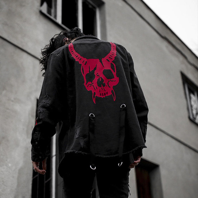 Goodfiller ''The Evil'' Jeansjacke