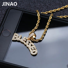 Goodfiller ''Blessed'' Iced Out Chain