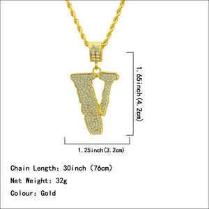 Goodfiller Iced Out -V-LONE- Kette