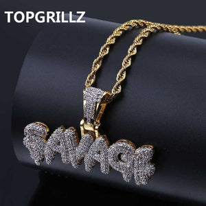 Goodfiller x Savage ''Black Berry Sky'' Iced Out Chain