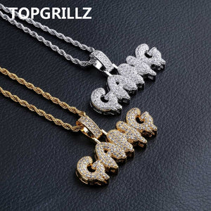 Goodfiller x Topgrill ''Gang'' Iced Out Chain