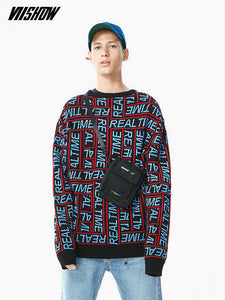 Goodfiller x VIISHOW ''Real Time'' Pullover Sweater