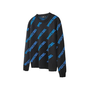 Goodfiller x VIISHOW ''Opposite Sides'' Pullover Sweater