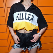 Goodfiller ''Killer'' Bauchfreies Shirt