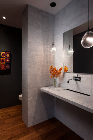 Spanish Modern Powder Bath