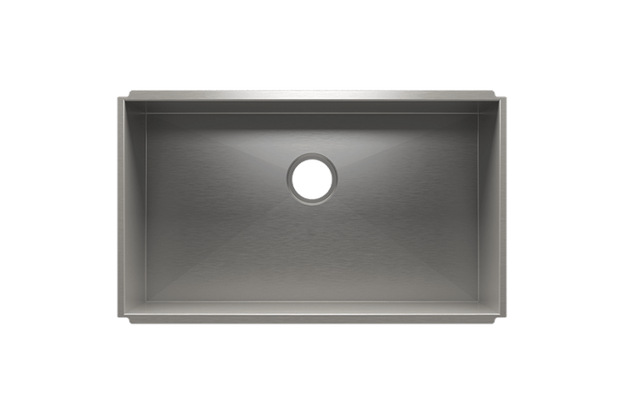 UrbanEdge Single Bowl Undermount Kitchen Sink