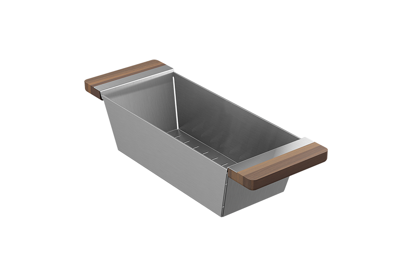 Fira Fireclay Bar Sink with Accessory Ledge