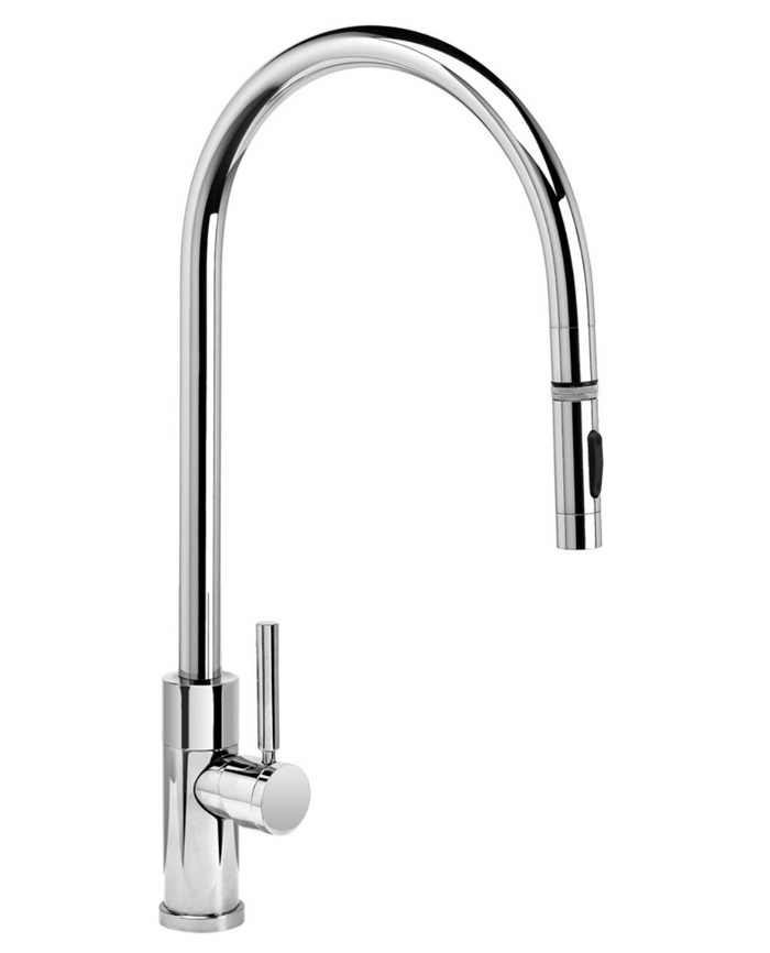 Modern Extended Reach PLP Pulldown Faucet