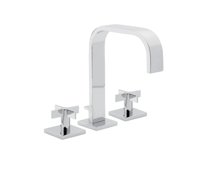 Terra Widespread Faucet with Cross Handles