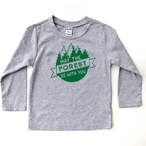 May the forest be with you LONG sleeve tee