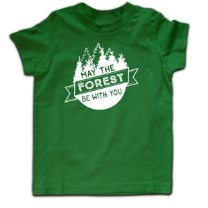 May the forest be with you SHORT sleeve tshirt