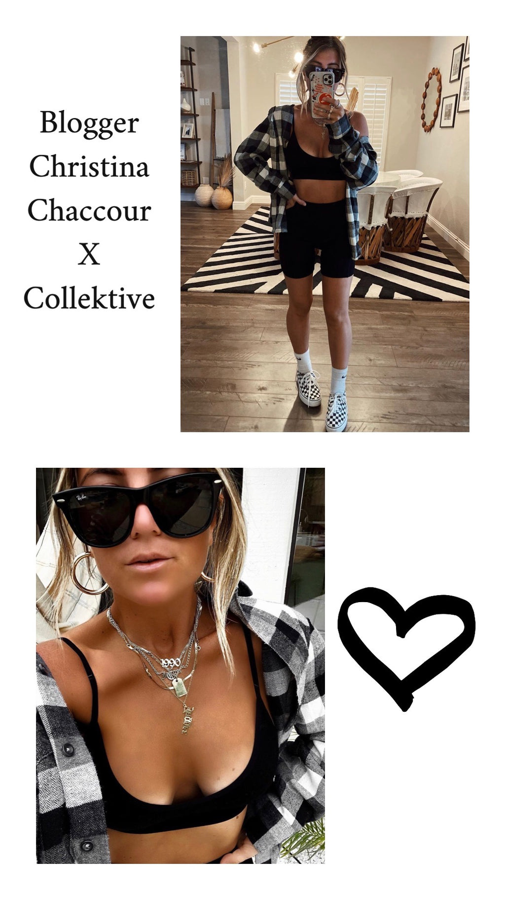 Christina Chaccour X Collektive Collaboration