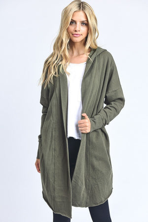 Portland Hooded Cardigan