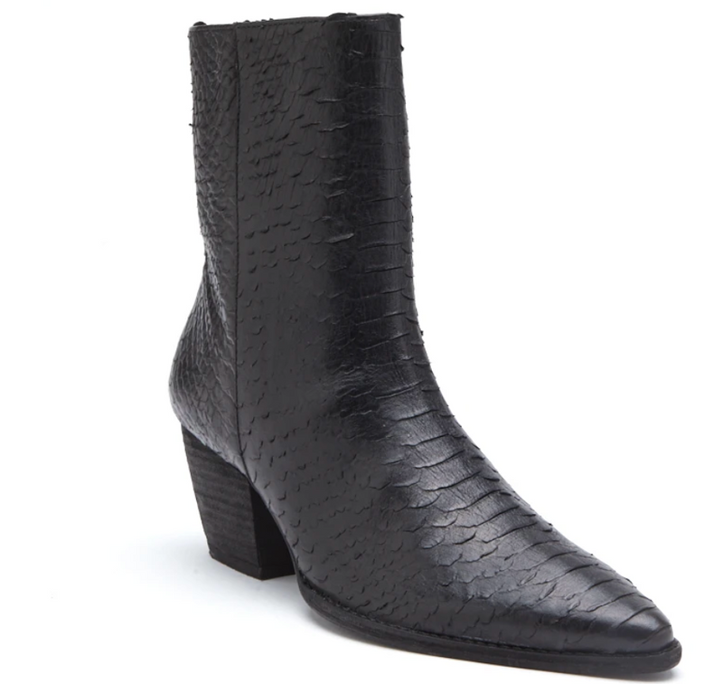 Matisse Caty Leather Bootie Black