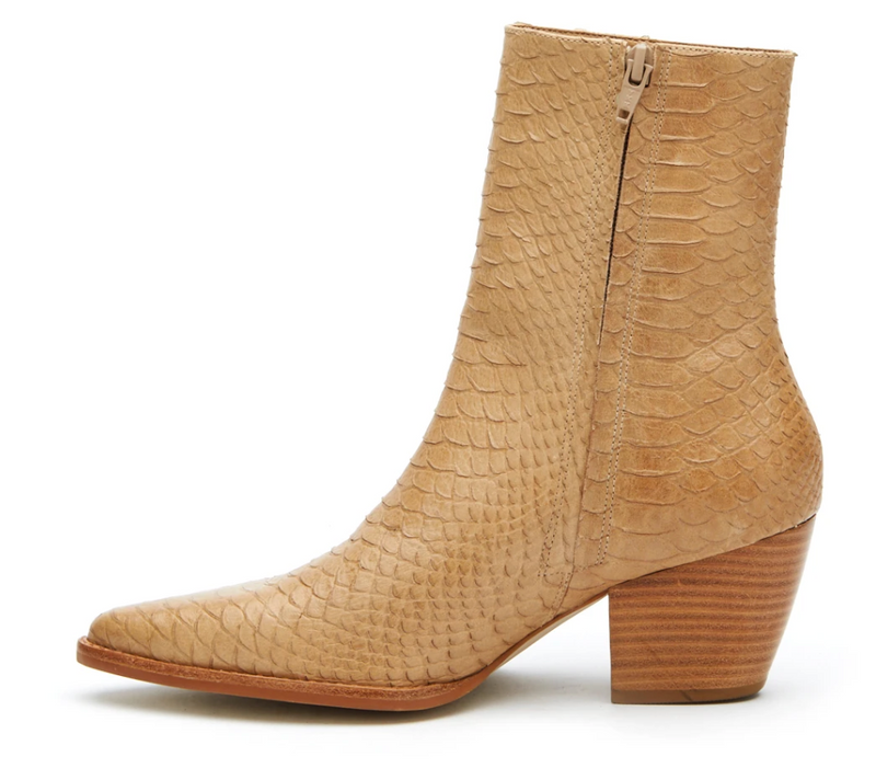 Matisse Caty Leather Bootie Tan