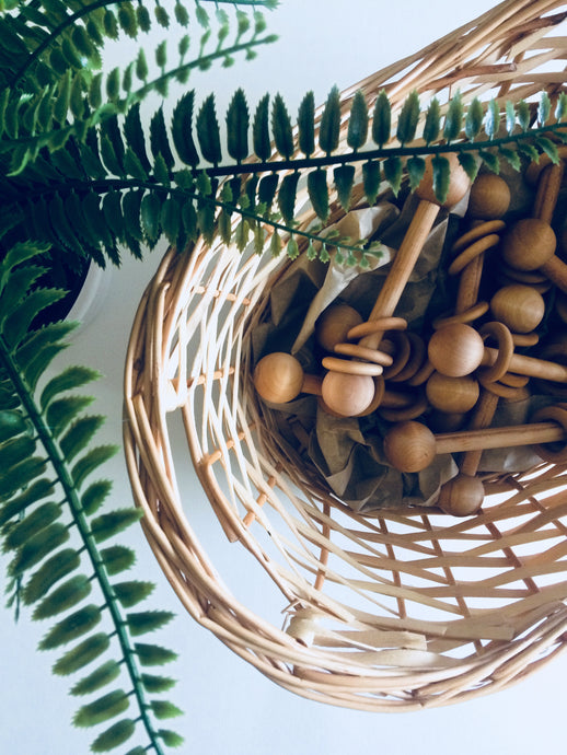 Little Wooden Rattle