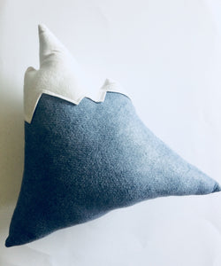 NEW Felted Wool Mountain Pillow