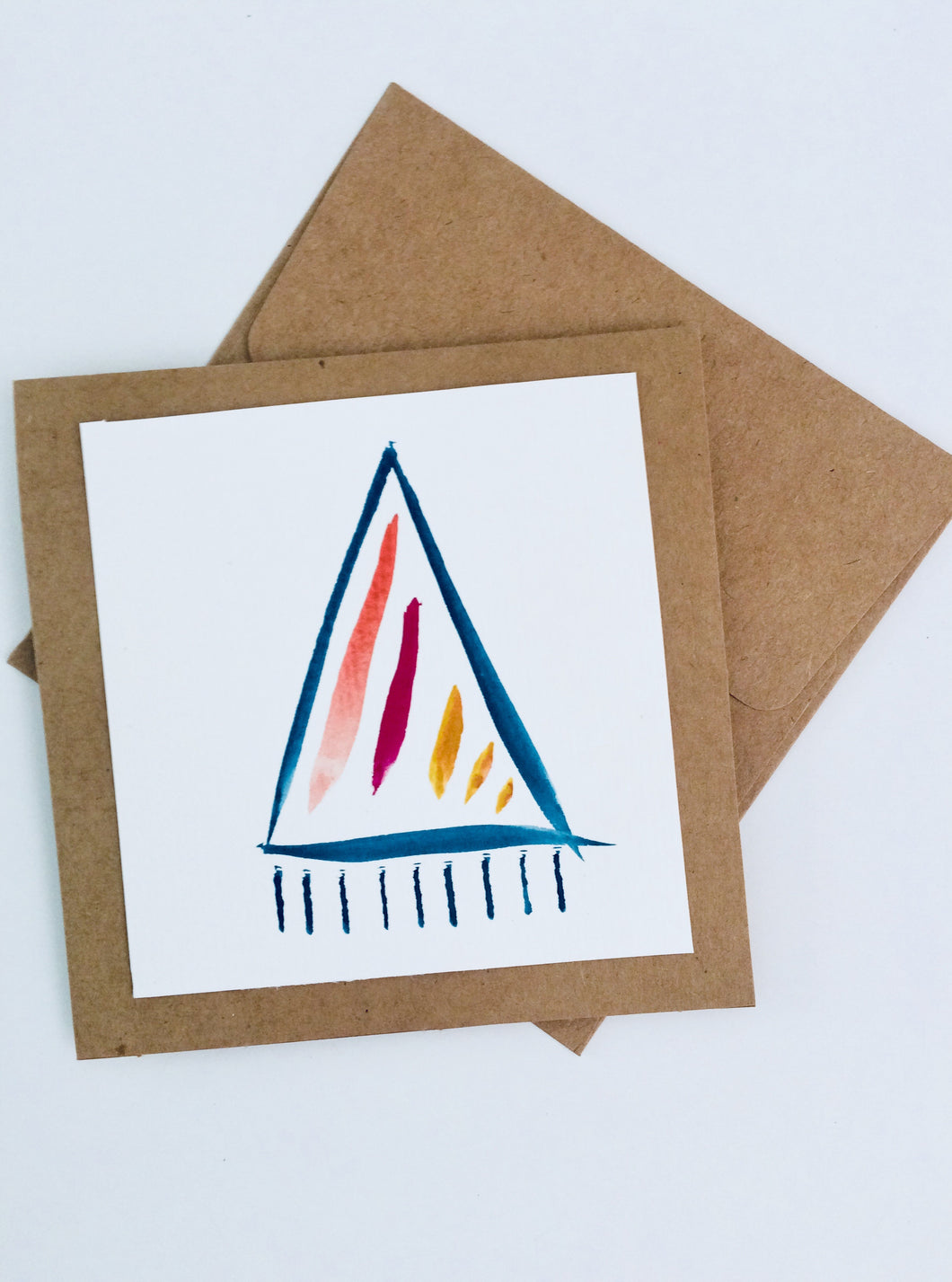 Watercolor Triangle