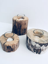 NEW Driftwood Candle Holders