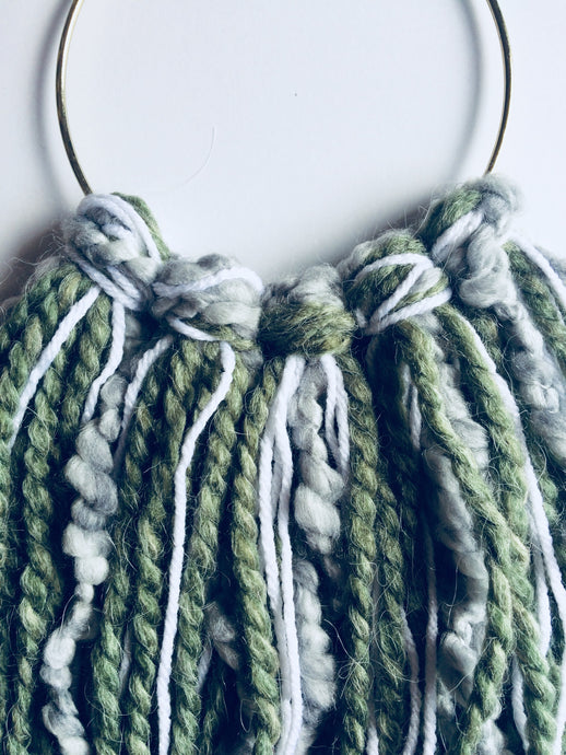 Cozy Evergreen Wall-Hanging