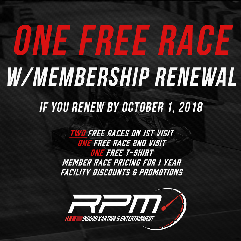 Membership Renewal - LIMITED