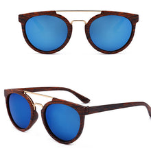 Vintage Wood Grain Sunglasses Unisex