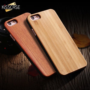 100% Original Real Wood Case For Samsung S6 S7 S8 Edge Shell
