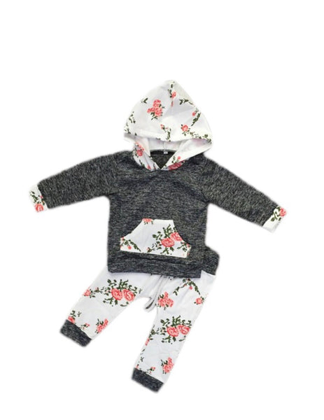 Baby Floral Two Piece Set