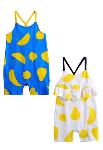 Lemon & Fruit Romper