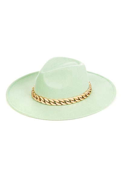 Mint Chain Fedora