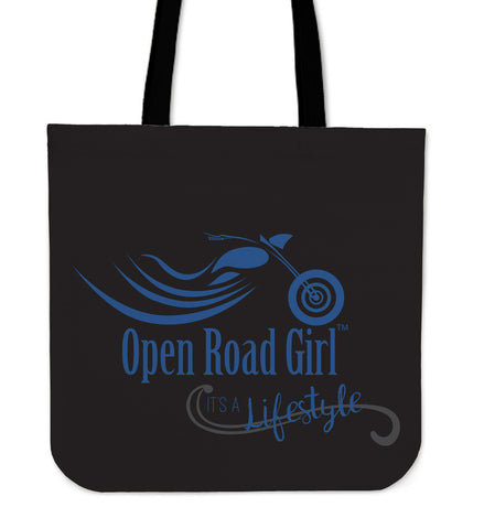 It's a Lifestyle Open Road Girl CLOTH Tote, 9 COLORS
