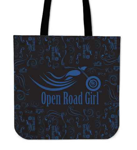 Scatter Open Road Girl CLOTH Tote, 9 COLORS