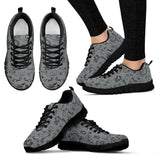 COLOR SCATTER DESIGN-10 COLORS-Open Road Girl Womens Tennis Shoes with Black Soles