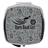 GREY Open Road Girl Compact Mirrors, 2 Styles