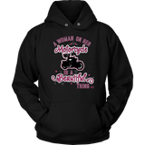 PINK A Woman on her Motorcycle is a Beautiful Thing UNISEX Hoodie