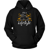 ORANGE It's a Lifestyle Sweatshirt UNISEX-Hoodie
