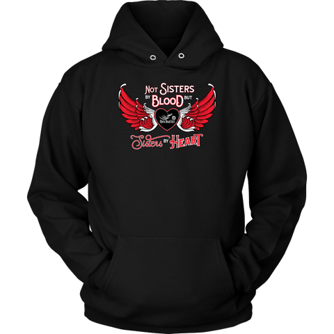 RED Not Sisters by Blood...Open Road Girl UNISEX Pullover Sweatshirt