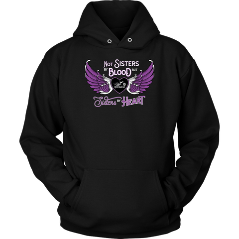 PURPLE Not Sisters by Blood...Open Road Girl UNISEX Pullover Sweatshirt