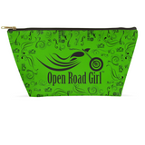 GREEN Open Road Girl Large Accessory Bags, 2 Sizes