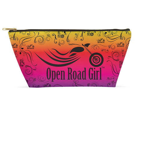 RAINBOW Open Road Girl Large Accessory Bags, 2 Sizes