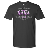 PURPLE Nana UNISEX Short Sleeve T-Shirt- Crewneck